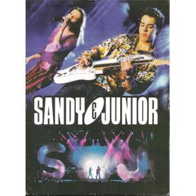 Box Dvd + 2 Cds - Sandy & Junior - Ao Vivo No Maracanã
