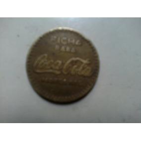 Coca Cola Token Mexico Unicamente Para Vendedora Automatica
