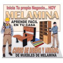 Aprende A Fabricar Muebles De Melamina Planos Manuales Video