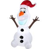 Muñeco Disney Inflable De Navidad Frozen Olaf 5-ft Blanco