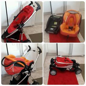 Coche Quinny Zaap Exta Folding Seat Con Maxi Cosi Porta Beb