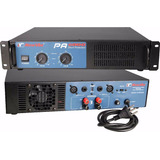Amplificador Potência New Vox Pa6000 3000rms