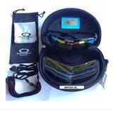 a246b75fae820 Óculos Ciclista Oakley 5 Lentes Kit Esportes Tático - Cores
