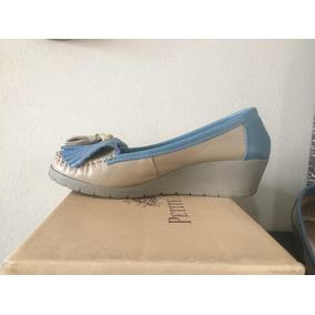 cdfcf36e6f2 Mocasines Nauticos Mujer Color Blanco - Zapatos de Mujer en Mercado ...