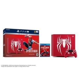 Ps4 Pro 1 Tb Spiderman Consola Edicion Limitada Con Garanti