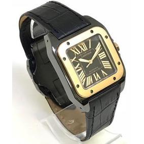 b359115840f Cartier Santos 100 Ouro Rose - Rose Gold. R  15.000