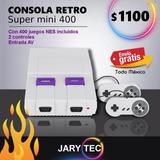 Consola Retro Mini Sfc 400 Juegos Clásicos Nintendo Jarytec