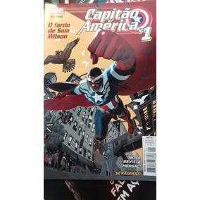 Revista Capitão America 1 À 4 (preço Por Edição )