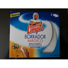 Caja De Borrador Magico Maestro Limpio 12 Cajas Con 2 Borrad