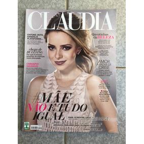 Revista Claudia Sandy Alinne Moraes Fátima Bernardes 2016
