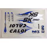 Adesivo De Bicicleta Caloi Sk Pro Azul Mtb