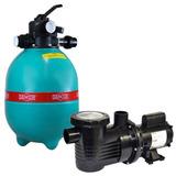 Filtro P/ Piscina Dfr 15-7 C/ Bomba 1/2 Cv Monofásica Dancor