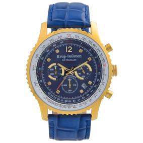f0eab68e6ce Relógio Krug Baumen Kingston Orange Outras Marcas - Relógios De ...