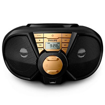 Som Portátil Philips Cd Soundmachine Px3115g Usb