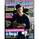 Revista Shawn Mendes = C/ 13 Posters 27x21cm Raridade Nova!
