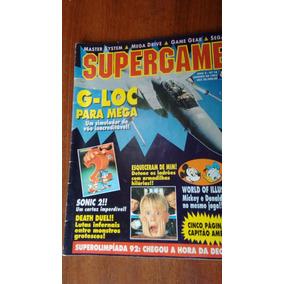 Revista Supergame - Nº 18 - Janeiro De 1993 - Rara
