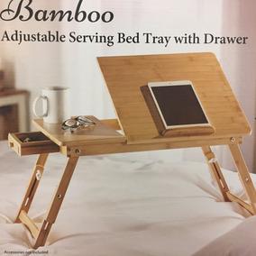 Bambu Mesa Servicio Plegable 55.5x35.x32cm Garantia Factura