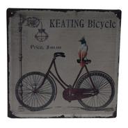 Bicicleta Vintage, Arte, Cuadro Metálico, Decoración