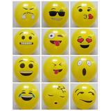Globo Látex 12 Pulgadas Emoji Amor Amistad Mayor Y Detal