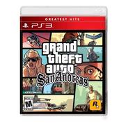 Grand Theft Auto San Andreas Gta Ps3 Juego Fisico Sellado