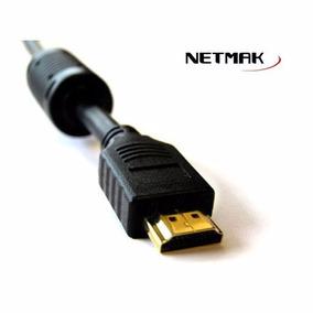 Cable Hdmi Netmak V1.4 1.5 Metros