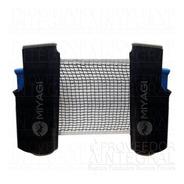 Malla Y Paral Retráctil Ping Pong Negro Azul Miyagi
