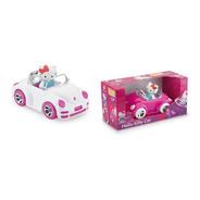 Carrinho Rosa Hello Kitty Com Bonequinho Articulavel