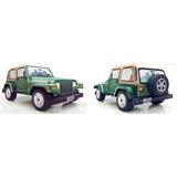 Jeep Wrangler 3d Para Imprimir, Recortar Y Armar En Papel