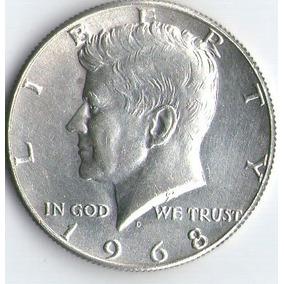 Medio Dolar Kennedy -plata-1965-66-67-68-69