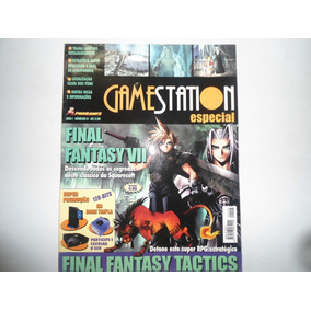 Revista Gamestation Especial Nº8 Final Fantasy 7