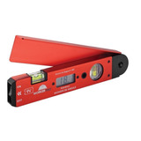 Esquadro Digital C/nível 250mm Medidor De Ângulos - Worker