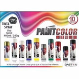 Tinta Spray Metalica Dourada 320ml 015 Paintcolor