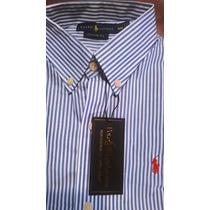 Camisas Polo Ralph Lauren Slim Fit A Rayas Para Hombre