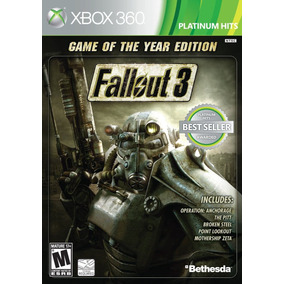 Fallout 3: Game Of The Year Edition - Xbox 360 E Xbox One