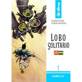 Box, Caixa, Para Lobo Solitário Vol.01 A 04 (panini)