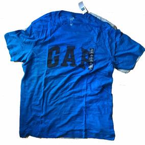 Remera Gap Original Adulto Hombre Algodon Colores Usa