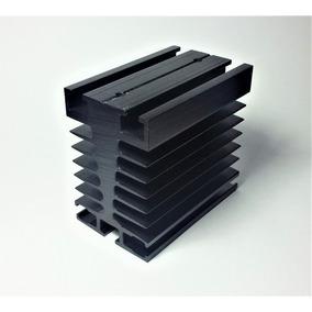 Dissipador De Calor Aluminio P/ Rele De Estado Solido Novus