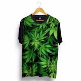 Camiseta Marijuana Cannabis Sativa Maconha Erva Ganja Hemp