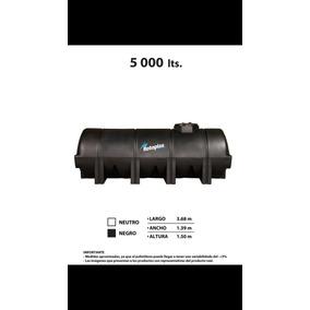Tanque Horizontal Nodriza 5000 Litros Rotoplas