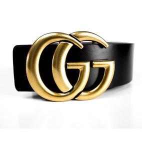 Cinto Da Gucci Importado Em Couro Modelo Das Blogueiras