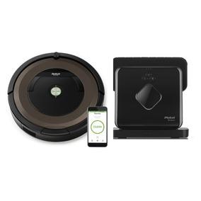 Irobot Roomba 890 + Braava 380 - Combo Oferta!