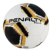 Bola De Futebol Campo Penalty Bravo Xxi - Branco E Preto