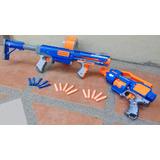 Nerf Pistolas Dardos De Juguete: Raider Cs35 Barricade Rv10