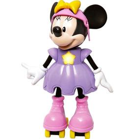Boneca Minnie Patinadora Fala Frases 26cm - Disney - Elka