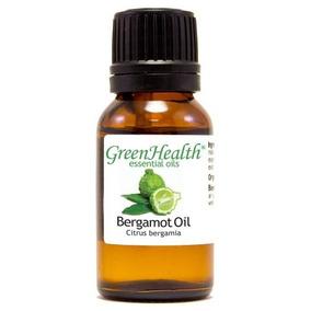 Aceite Escencial Bergamota Green Health 100% Puro De 15 Ml