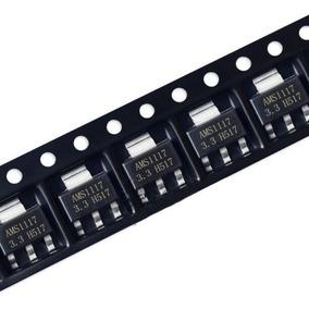 Regulador De Tensão Ams1117 3.3v 1a ( 5 Peças)