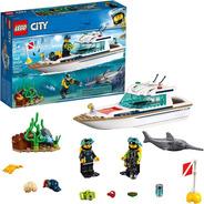Lego City 60221 Kit Construcción De Barcos,buceo