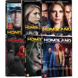 Boxes Dvd Homeland - 1ª À 6ª Temporadas Completas! Novos!