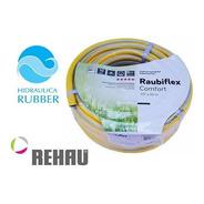 Manguera De Riego Rehau 1/2 X 20 Mts. Hidraulica Rubber