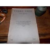 Tierra Firme 1935 Nº 1 Revista Trimestral Literaria
